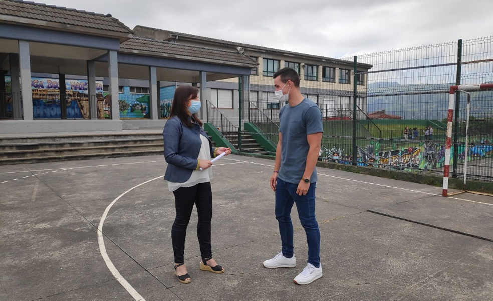 Santurtzi acomete obras de mejora en colegios por más de 340.000 euros