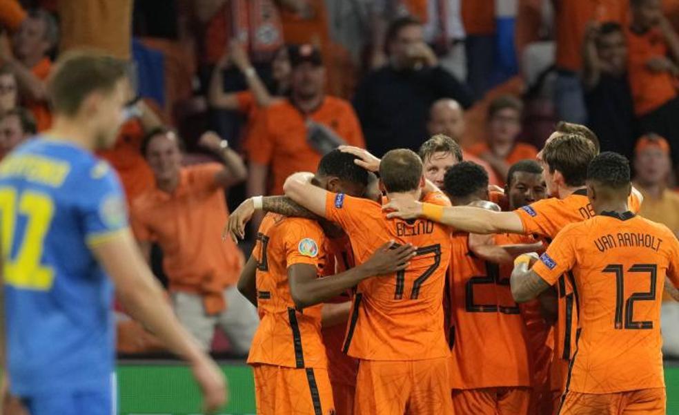 Holanda reina en la locura