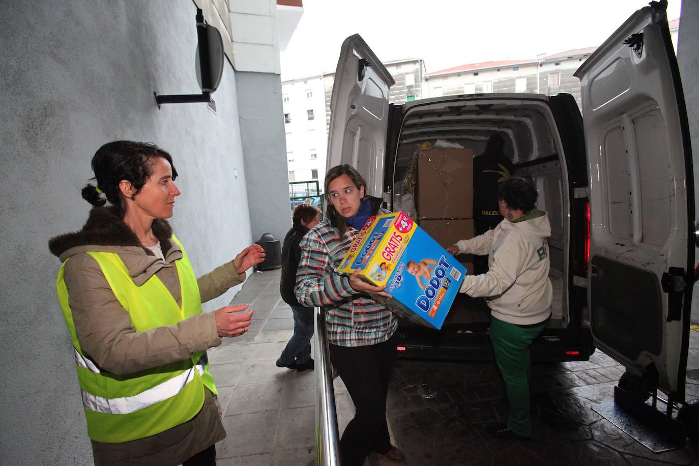 Kate Sarea de Bermeo echa el cierre tras facilitar comida y ropa a los necesitados durante 9 años