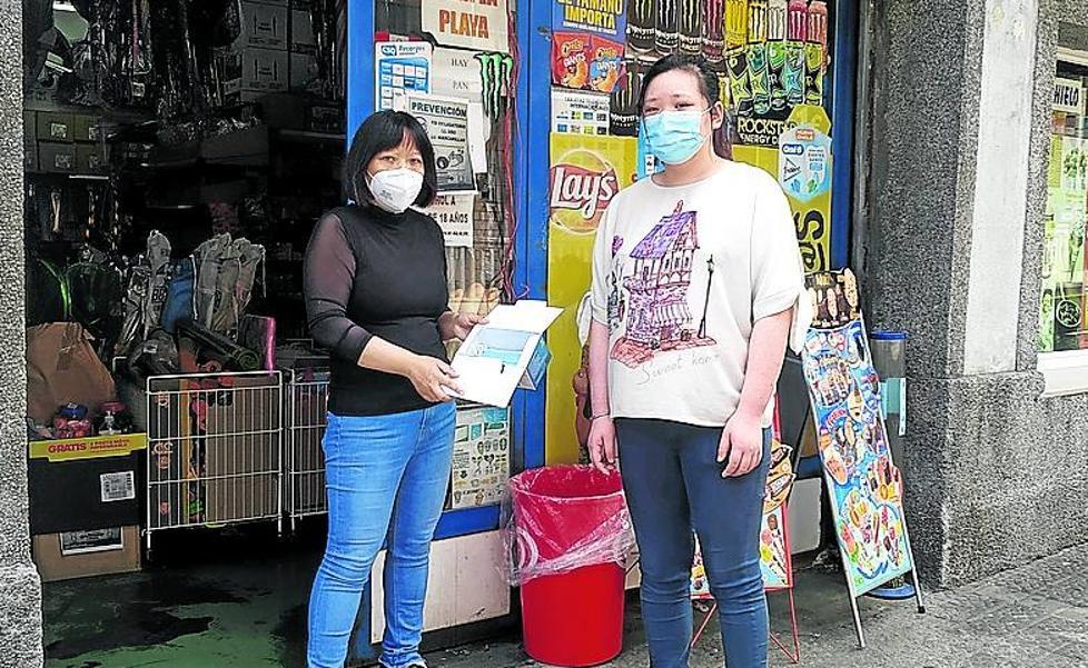 Dos menores agreden a una comerciante de Plentzia y a su hija tras robarles mascarillas