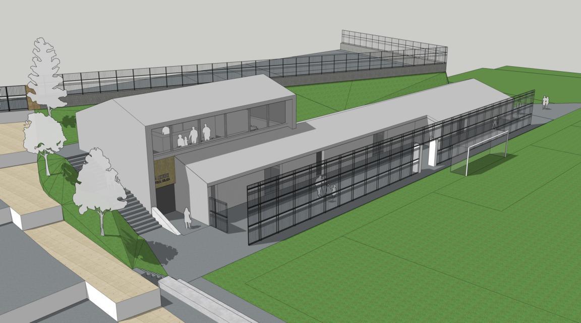 Barakaldo inicia la ampliación de los vestuarios en el campo de fútbol de La Siebe
