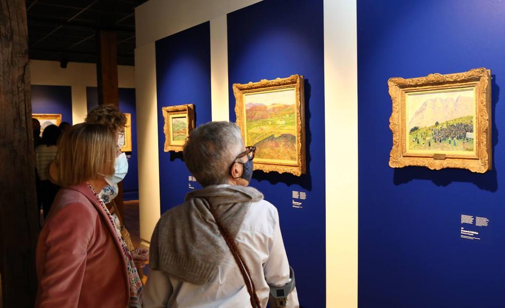 La exposición sobre Regoyos permanecerá un mes más en Durango