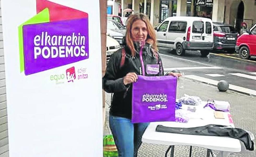 La edil de Podemos en Sopela consuma su apoyo a PNV y PSE en el contrato de los polideportivos