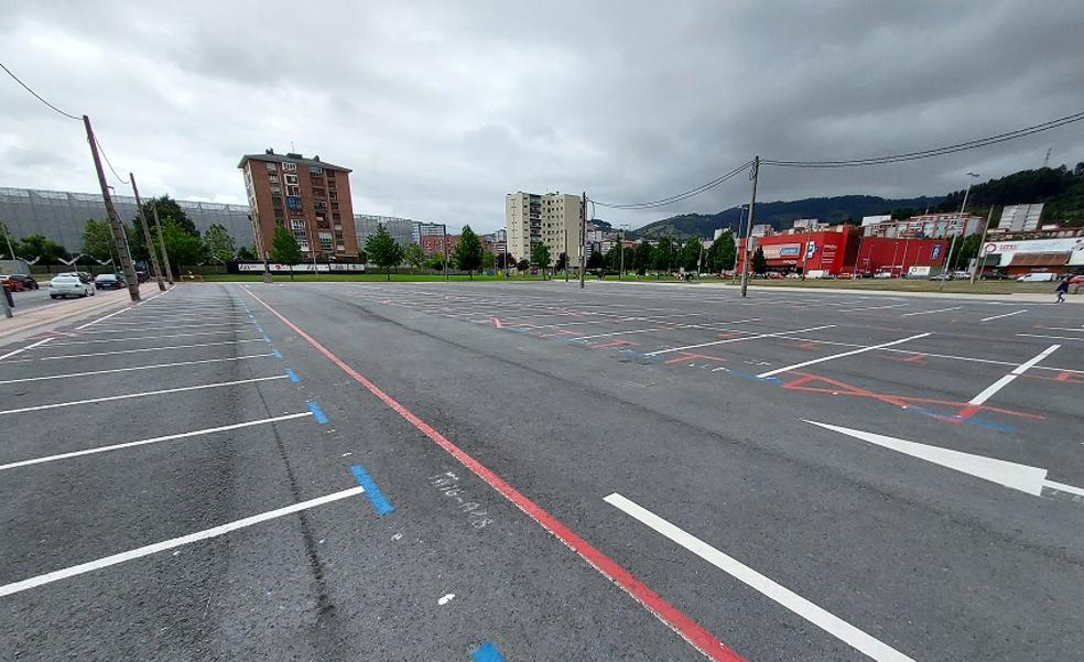 Barakaldo abre desde hoy más de 200 aparcamientos en Ansio