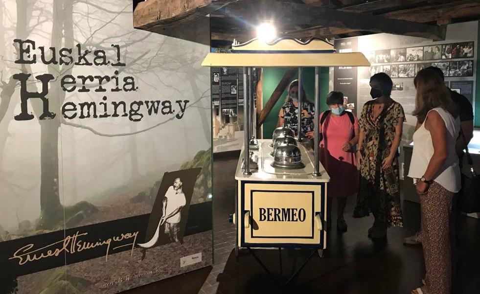 Hemingway conecta Euskadi y Andalucía a través de su ruta por Busturialdea