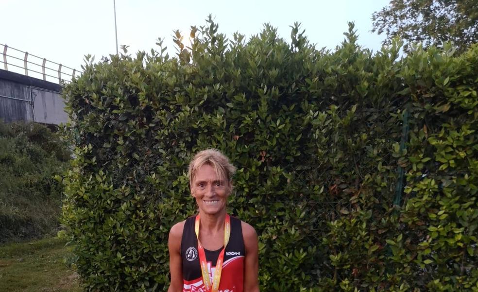 Gartzia se cuelga la plata en el Nacional de media maratón