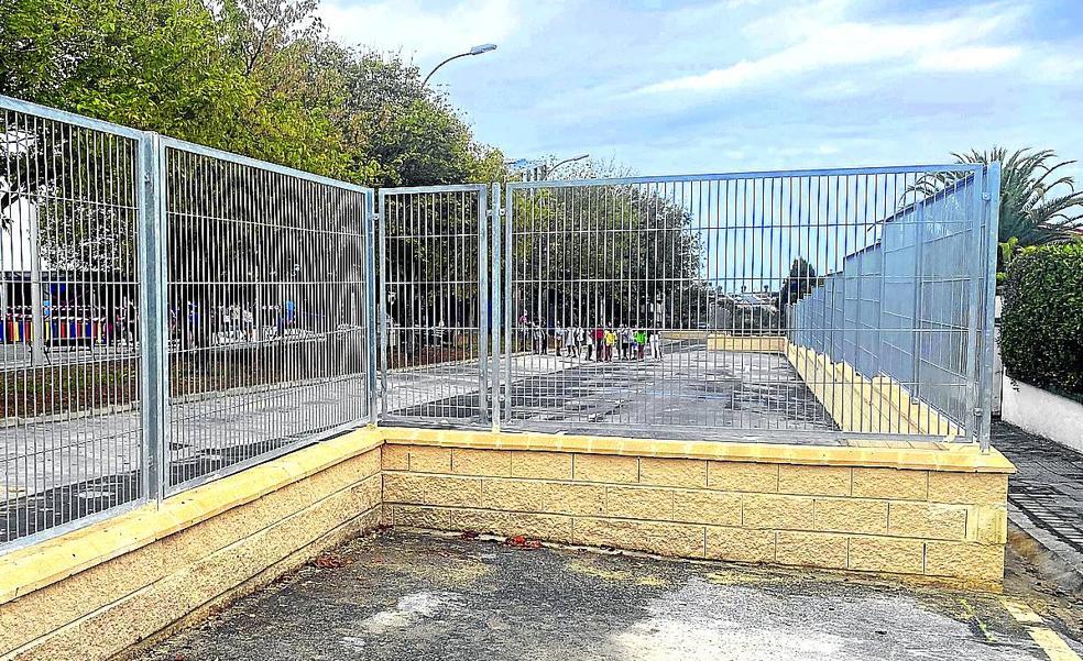 El colegio público de Sopela no ampliará su capacidad con barracones