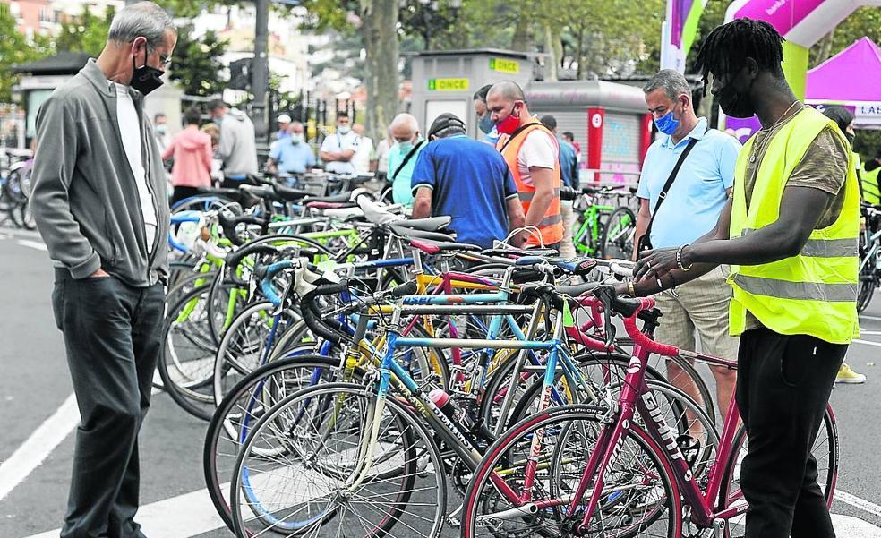 Una nueva vida para las bicis del trastero