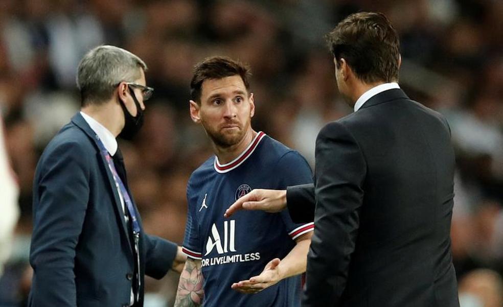 Messi, lesionado, baja ante el Metz