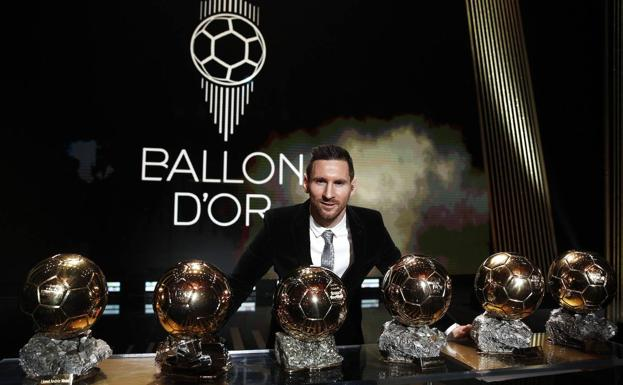 Leo Messi was the last winner of the Ballon d'Or.