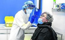 10 de los 24 centros de salud alaveses encadenan más de cuatro días sin positivos