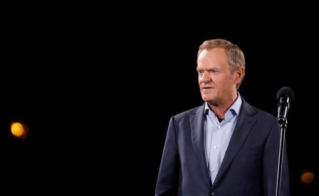 Donald Tusk, lider głównej polskiej opozycyjnej platformy obywatelskiej.