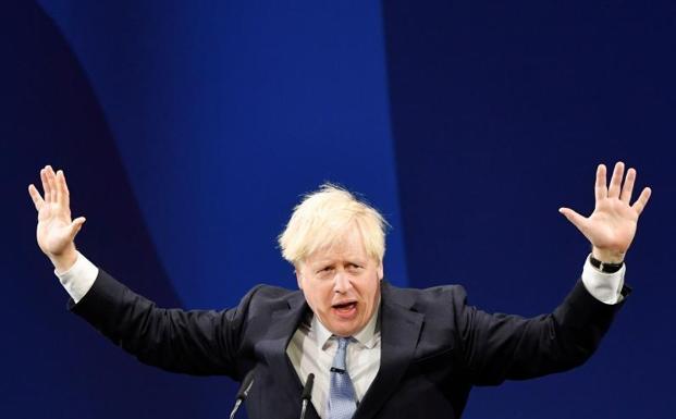 Boris Johnson .