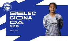 Jana Xin vuelve a ser convocada con España sub-19