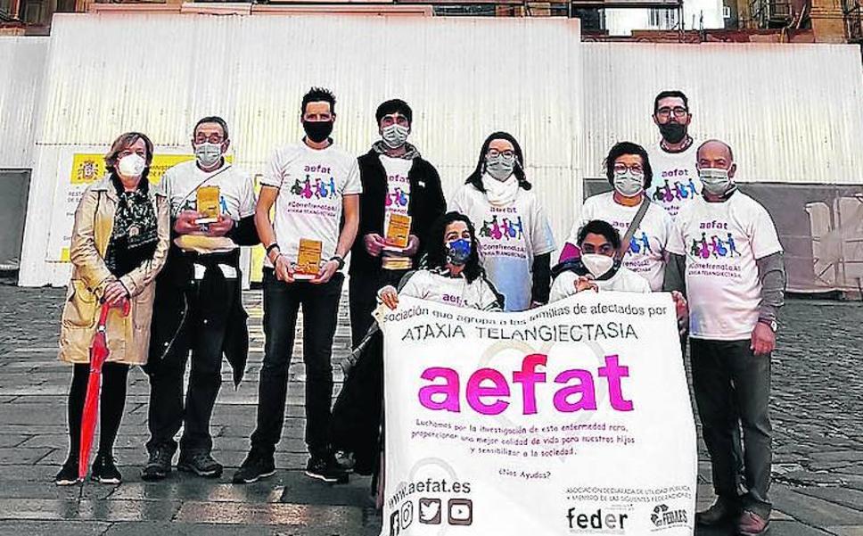 120 kilómetros de vueltas y vueltas por Orduña a favor de una enfermedad rara