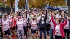 Vitoria vuelve a correr contra el cáncer de mama