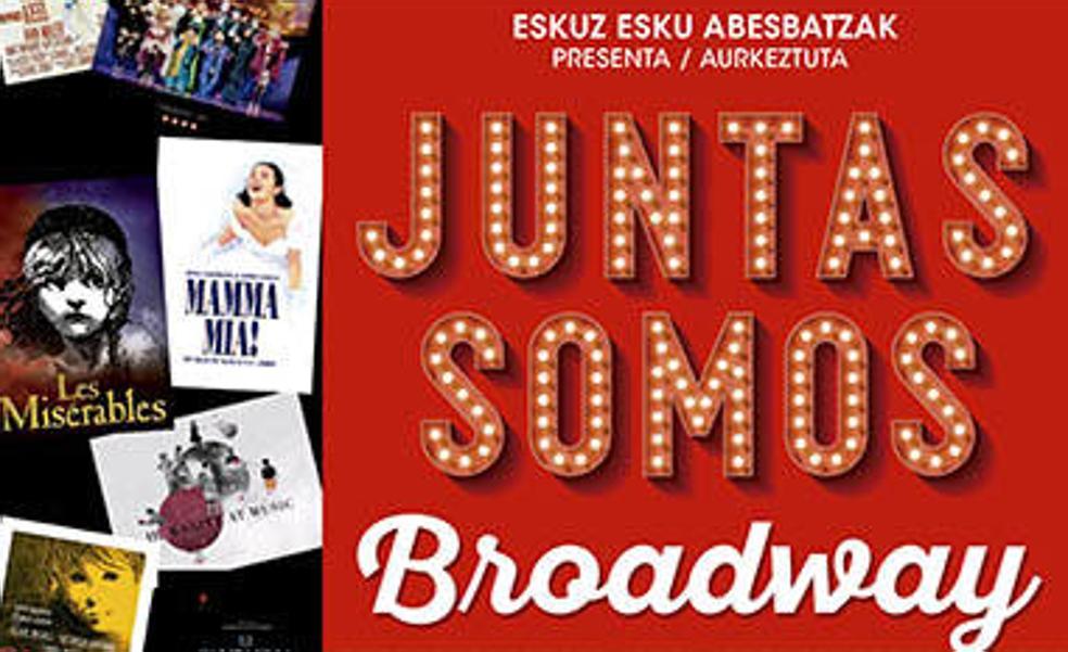 120 cantantes intervendrán en Getxo en el musical 'Juntas somos Broadway'