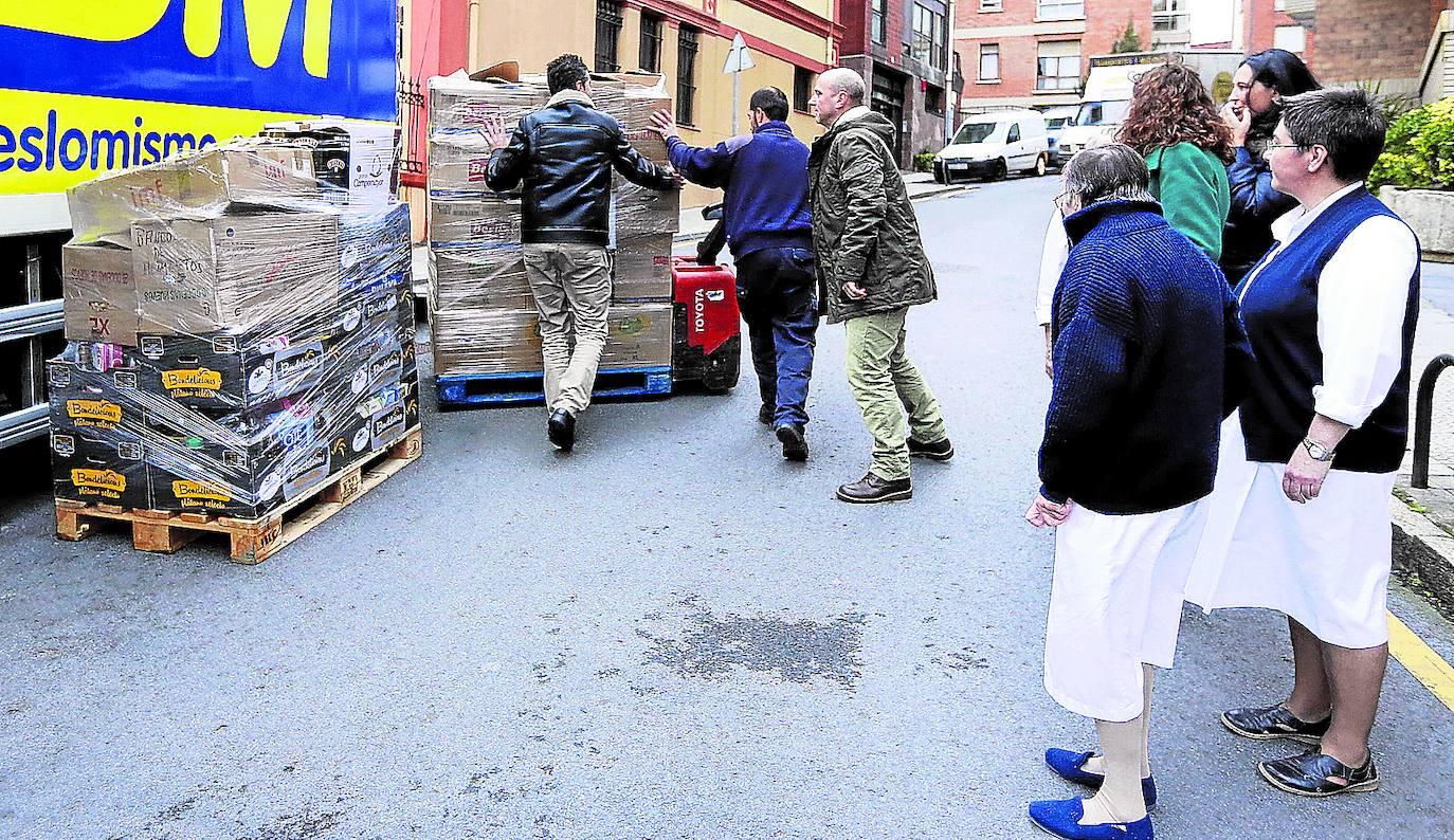 Las ayudas de emergencia social aumentan cada año en Getxo