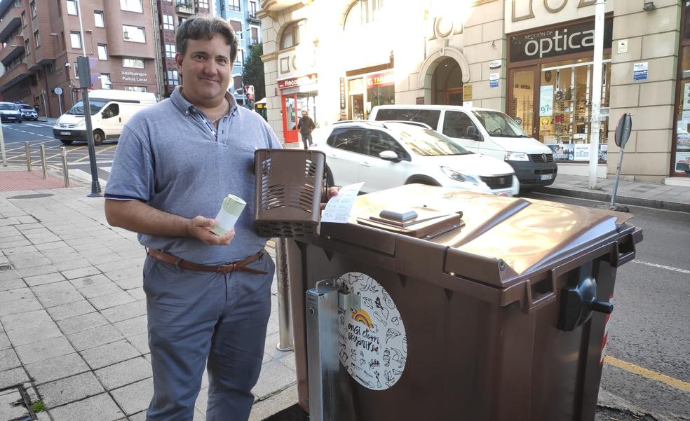 Casi 3.900 familias de Santurtzi se adhieren a la campaña del quinto contenedor