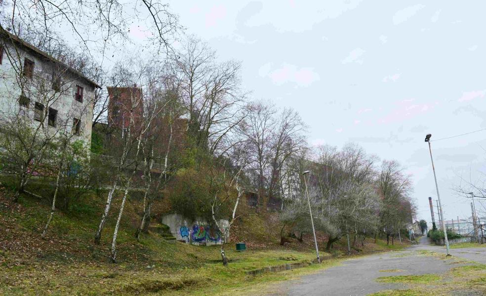 Comienza en Sestao el acondicionamiento de las laderas de Txabarri