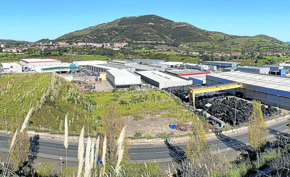Abanto y Ortuella se unen en un plan para reforzar el polígono del Abra Industrial