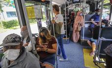 El transporte público de Vitoria pierde a uno de cada cuatro viajeros por el covid