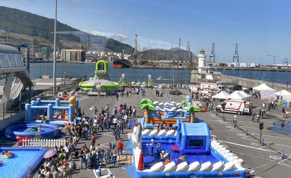 Regresa la fiesta familiar del Día del Puerto de Bilbao