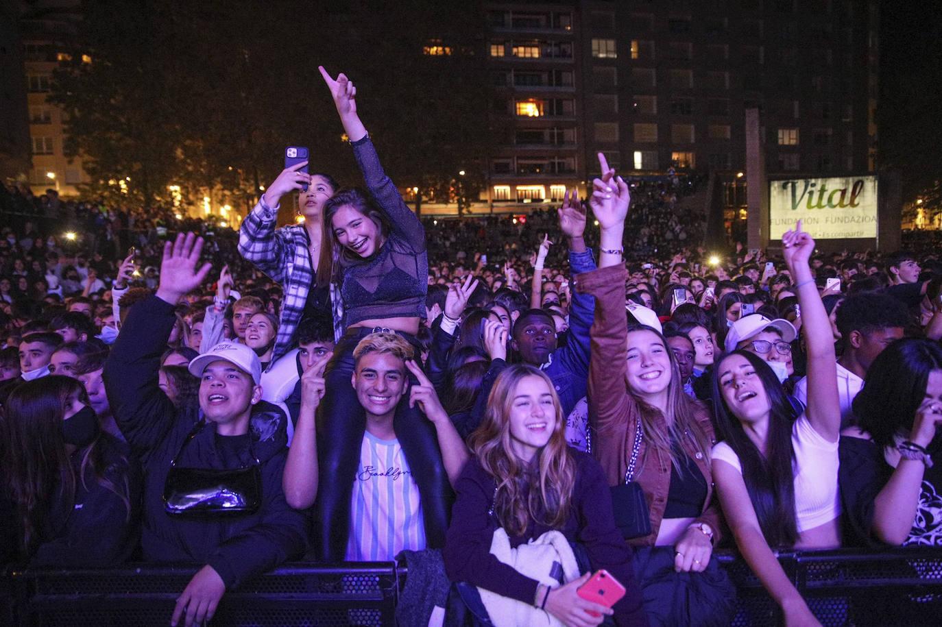 Los conciertos toman la noche en los Fueros