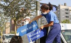 El Ateneo Republicano pide poner nombre de mujer a cien espacios de Vitoria