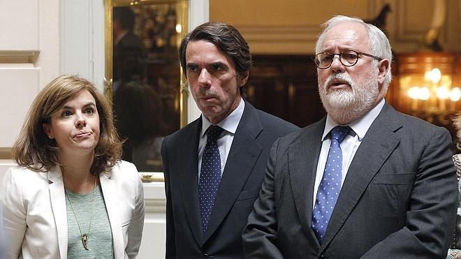 Cañete: «Este partido no se entiende sin Aznar»