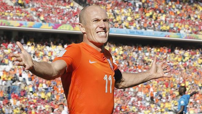 Arjen Robben, unas piernas de 20 años