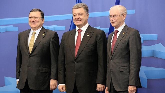 La UE da tres días a Rusia para que colabore en la pacificación de Ucrania