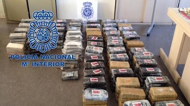 La Policía interviene 350 kilos de cocaína en Segovia