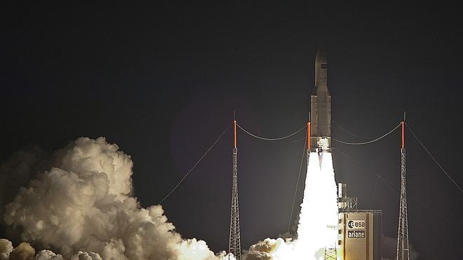 La ESA lanza al espacio su quinto y último carguero para aprovisionar la ISS