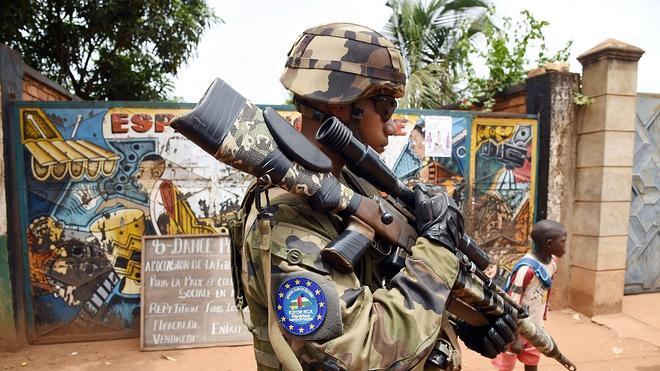 Guardias civiles salen ilesos de un ataque en la República Centroafricana