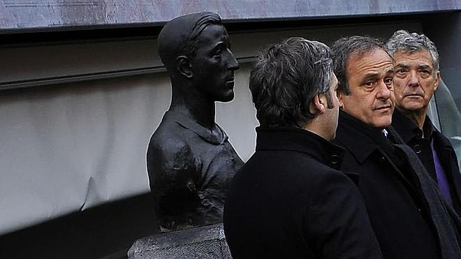 Platini y Villar vibraron viendo al Athletic