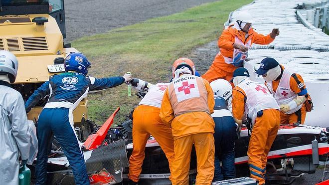 La Fórmula 1 contiene el aliento por Jules Bianchi