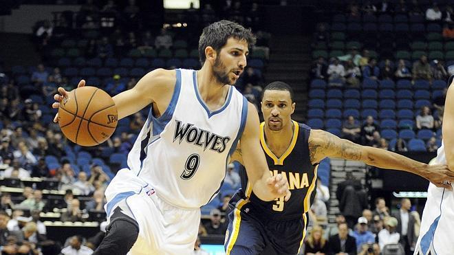 Ricky Rubio lidera una nueva victoria de los Timberwolves
