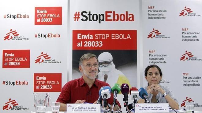 MSF pide el envío de equipos militares y civiles a África para luchar contra el ébola