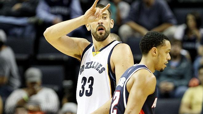 Marc lidera a los Grizzlies en el mejor arranque de la historia de la franquicia