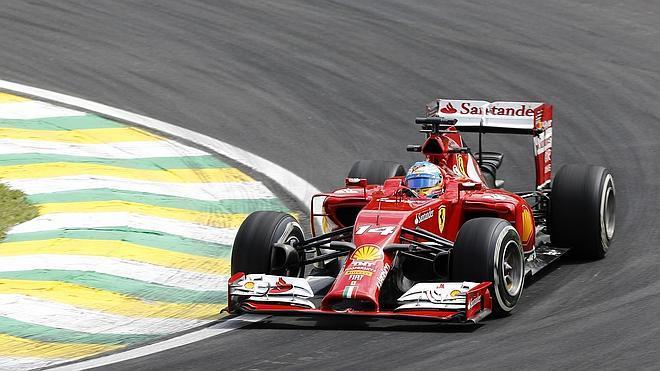 Alonso, el apagafuegos