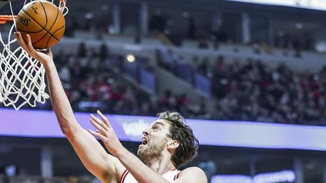 Los Celtics sorprenden a los Bulls pese a un gran Pau Gasol