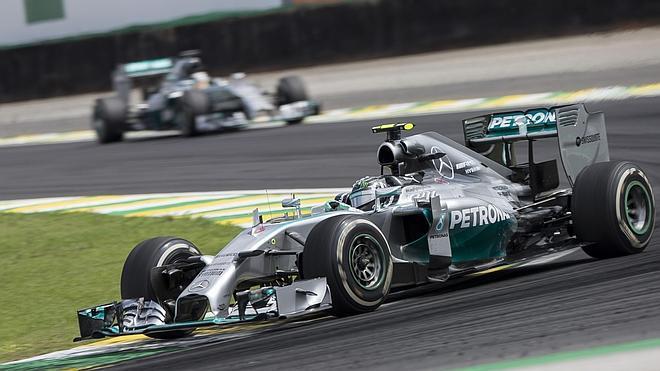 Rosberg, el muro de Hamilton
