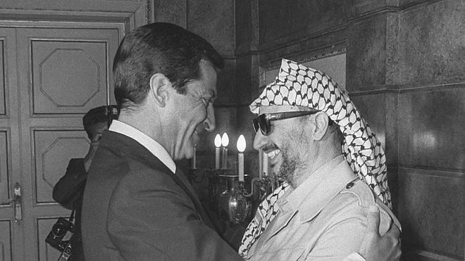España ya 'reconocía' a Palestina