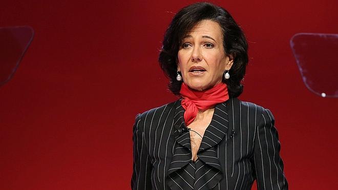 Ana Botín cobra en efectivo el dividendo del Santander