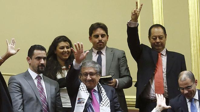 Israel condena el apoyo del Congreso al reconocimiento del Estado palestino