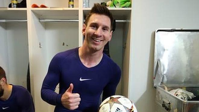 Messi: «Feliz de superar el récord de un jugador fenomenal como Raúl»
