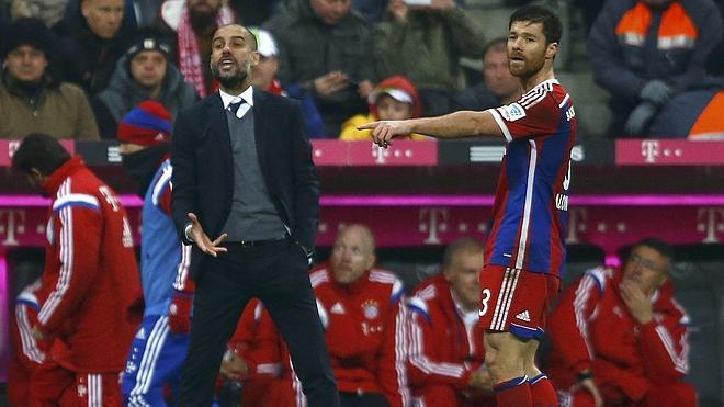Ribéry da la victoria al Bayern de Guardiola y Xabi Alonso