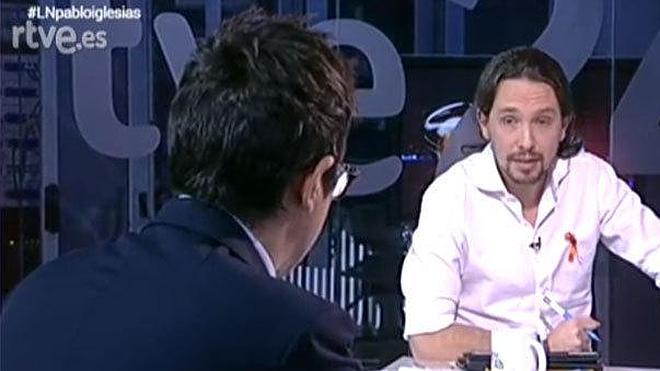 El Consejo de Informativos de TVE pide la destitución de Sergio Martín por la entrevista a Pablo Iglesias
