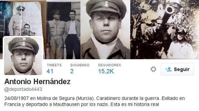 El prisionero español que tuitea desde el infierno nazi